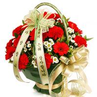 [어]내리사랑+코사지1개(비누꽃또는 생화)